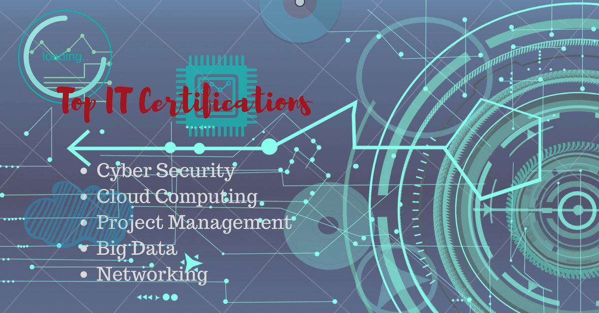 Top It Certifications For 2018